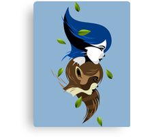 Mordecate and Rigbelle Canvas Print