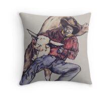 Bill Picket Throw Pillow