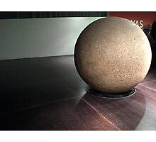 Sphere Stone Photographic Print