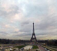 Eiffel Tower by amblackwell501