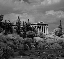 Temple of Hephaistos by Frans Harren