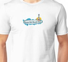 Ocean City Beach - North Carolina. Unisex T-Shirt