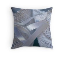Baby Boy Shoes Throw Pillow