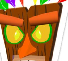 Crash Bandicoot (ooga booga) Sticker