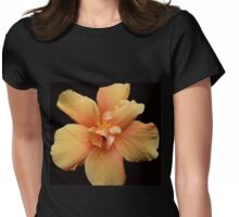 Yellow Hibiscus  Womens Fitted T-Shirt