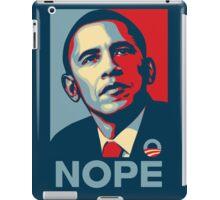 Obama Nope iPad Case/Skin