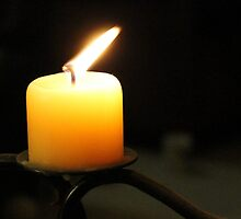 Candle in the dark by Timoteus1