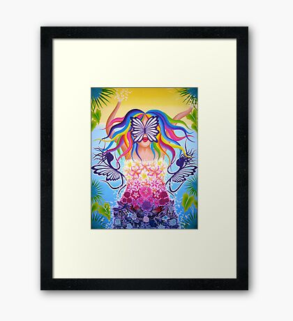 Nature Colours Beauty Framed Print
