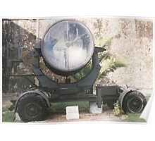 Anti-Aircraft Searchlight Poster