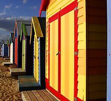 Colorfull Huts by Elena Martinello