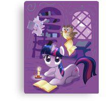 Twilight Sparkle - Bookworm Pony Canvas Print