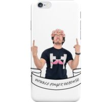 Double Finger Defense! - Markiplier iPhone Case/Skin