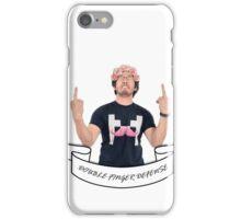 Double Finger Defense! - Markiplier iPhone Case/Skin