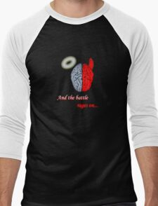 Mind Battle Tee Men's Baseball ¾ T-Shirt