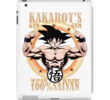 Kakarot's Gym iPad Case/Skin