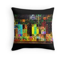 2015 HALFTIME entertainment, SUPERBOWL art, BEACH, multicolored  Throw Pillow