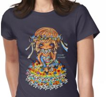 Flower Power TShirt Womens Fitted T-Shirt