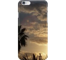 UFO IN MY STUNNING SUNSET iPhone Case/Skin