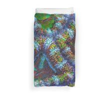 Acanthastrea coral Duvet Cover