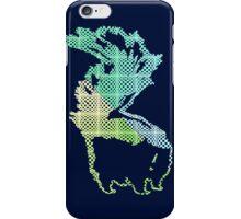Checkerboard Skunk iPhone Case/Skin