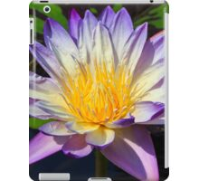 Beautiful Water Lily and Lily Pad iPad Case/Skin