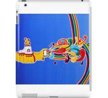 beatles: yellow submarine iPad Case/Skin
