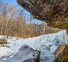 Frozen Anderson Falls by Kenneth Keifer