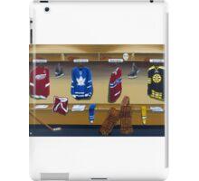 nhl original 6 painting iPad Case/Skin