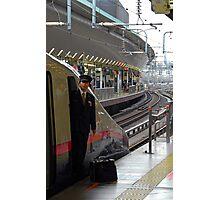 Bullet train - Driver - Tokyo Photographic Print