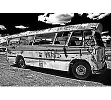 Bang Bus Photographic Print