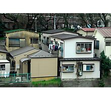 Typical Japanese Suburbia. Photographic Print
