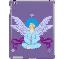 Royal Yoga Angel iPad Case/Skin