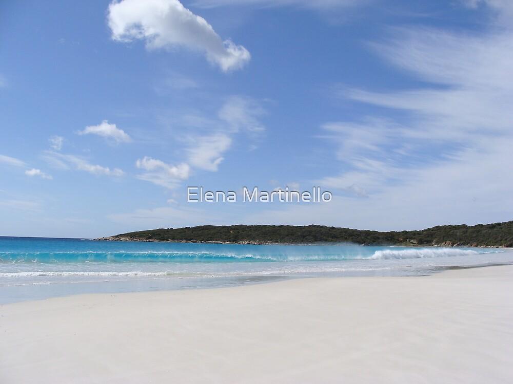 Australian beach by Elena Martinello