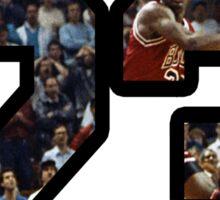 Jordan - No.23 Sticker