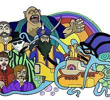 League of the Yellow Submarine by TeRaei