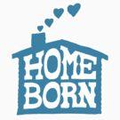 Home Born - Blue by aaronarthur