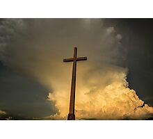 Jesus reigns Photographic Print