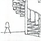 In remember : A chair and the stairs by LINEart