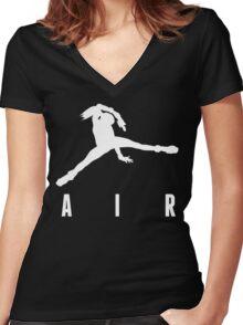 Air Aran Women's Fitted V-Neck T-Shirt