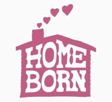Home Born - Pink One Piece - Long Sleeve
