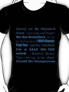 Multi Fandom Anthem T-Shirt