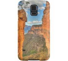 Hanging Rock vista .. the long view Samsung Galaxy Case/Skin