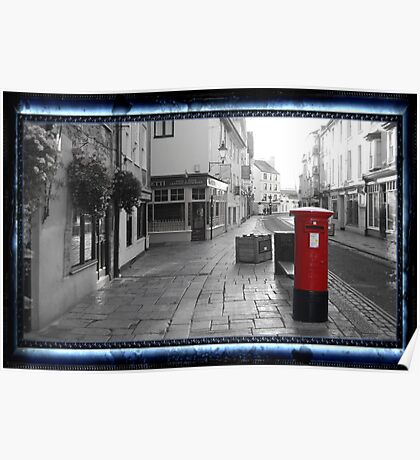 Time Travel Postbox Poster