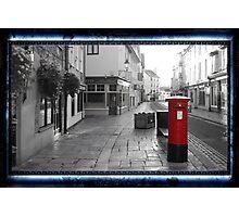 Time Travel Postbox Photographic Print