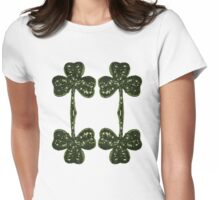 Shamrock Womens Fitted T-Shirt