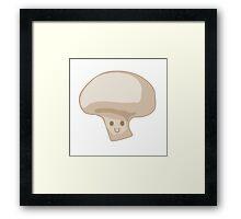 Vegasaur- Mushroom Framed Print
