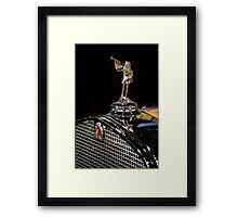 1930 Cadillac Hood Ornament Framed Print