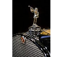1930 Cadillac Hood Ornament Photographic Print