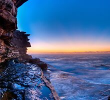 Morning glow from Shark Point	 by Erik Schlogl