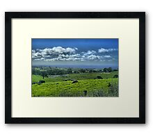 North Harcourt, Australia Framed Print